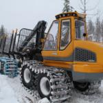 lintidega kokkuveotraktor FR48