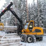 suur forvarder FR68 metsamaterjali kokkuveoks