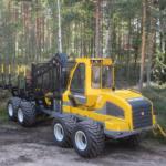 forvarder Sampo Rosenlew FR68 puidu väljaveoks