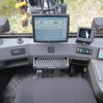 harvesteri operaatori töökoht kabiinis