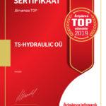 Äripäeva TOP 2019 ettevõte TS-Hydraulic OÜ