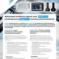 hüdrotõstuki juhtimissüsteem xCrane Plus Pro tehniline kirjeldus